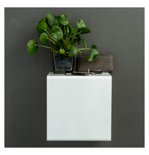 Showcase #0 Wall Shelf White