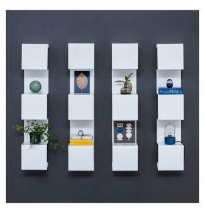 Showcase #4 Wall Shelving White