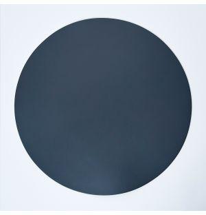 Cuero Round Placemat Grey 36cm