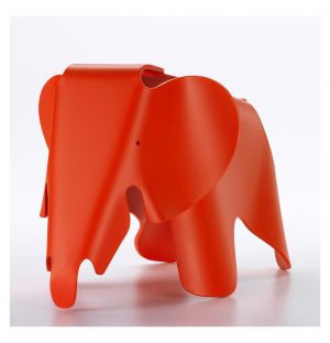 Eames Elephant Red Small