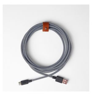 BELT USB A to USB C Cable Zebra 3m