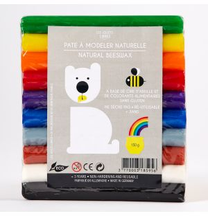 Rainbow Modelling Clay Set Of 10