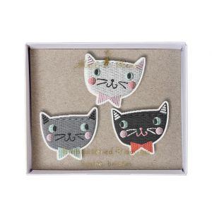 Cat Brooch Set Of 3