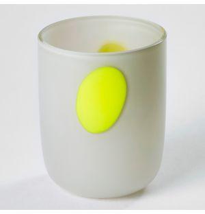 Tumbler Grey & Yellow