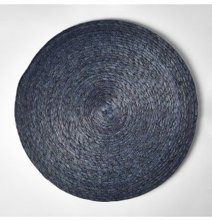 Round Placemat Grey 38cm