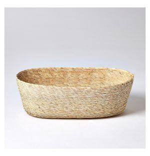 Oval Basket Natural Medium