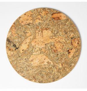 Cork Mat Round Large 28.7cm