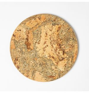 Cork Mat Round Small 20cm