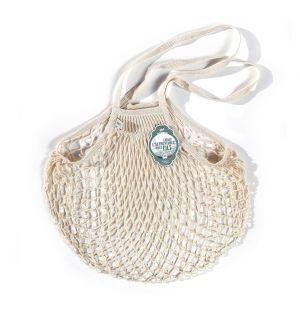 French String Market Bag Ecru