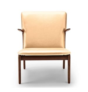 OW124 Beak Chair Oiled Walnut & Sif Leather