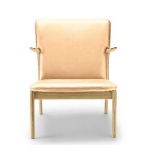 OW124 Beak Chair Soaped Oak & Sif Leather