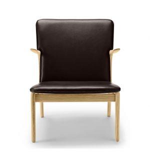 OW124 Beak Chair Soaped Oak & Thor Leather