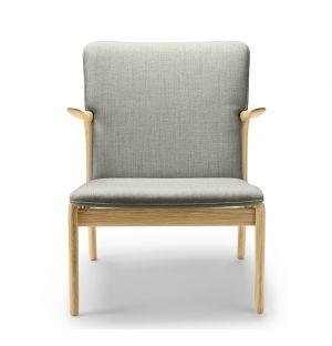 OW124 Beak Chair Soaped Oak & Kvadrat Molly Wool