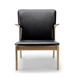 OW124 Beak Chair Oiled Oak & Thor Leather