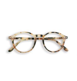 LetMeSee #D Reading Glasses Light Tortoise