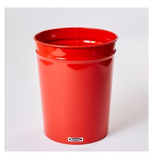 Tapered Waste Basket Small Red