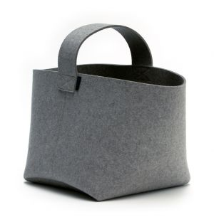 Firewood Basket Medium Anthracite