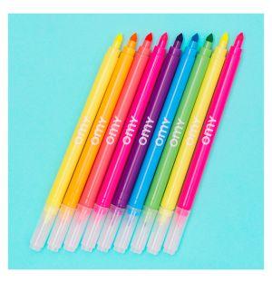 Neon Felt Pens Set Of 9