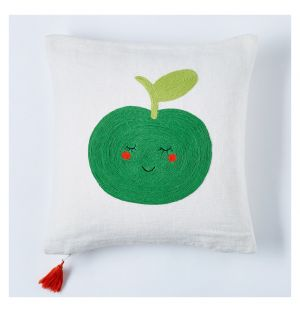Children's Apple Cushion Cover 30cm x 30cm