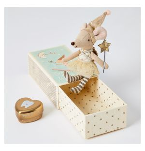 Girl Tooth Fairy Mouse In A Box