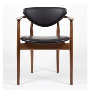 109 Chair Walnut & Prestige Leather