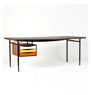 Nyhavn Desk Walnut & Orange