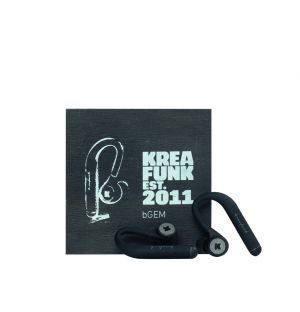 bGEM In-Ear Headphones Black
