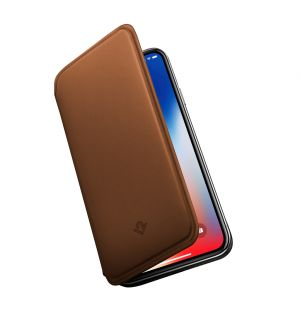 SurfacePad iPhone X Case Cognac Leather