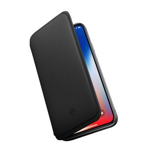 SurfacePad iPhone X Case Black Leather