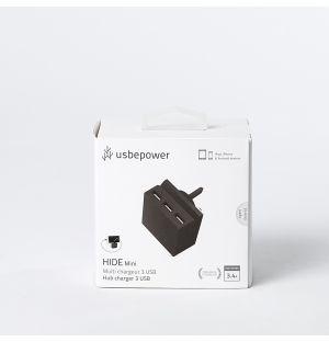 HIDE Mini Multifunctional Charger Black