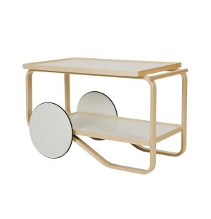 Tea Trolley 901 White