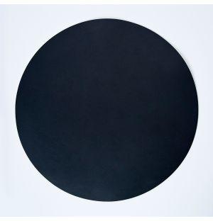 Cuero Round Placemat Black 36cm