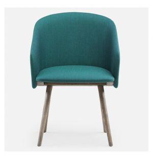 406 Saia Dining Chair Black Oiled Ash