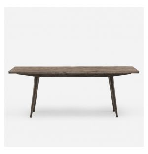 408 Tavli Dining Table Black Oiled Ash