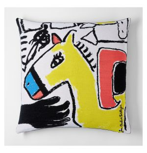 Castelbajac 'Le Cheval De Toi' Cushion Cover 45cm x 45cm