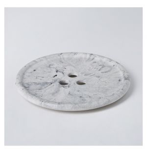 Erode Bouton Plate Marble Small