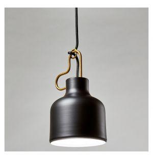 Bolb Pendant Light Black & Brass