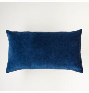 Velvet Cushion Cover Petrol 30cm x 55cm