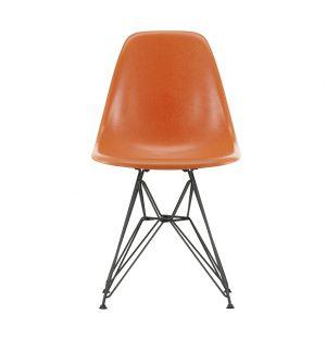 DSR Fiberglass Side Chair Dark Base