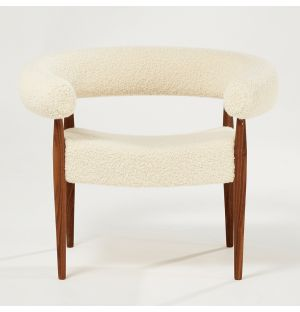 Ring Chair Walnut & Crème