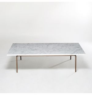Pelham Coffee Table Arabescato Arabescato Marble