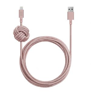 NIGHT Lightning Cable Rose 3m