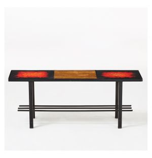 Vintage Cloutier Brothers Lava Coffee Table c.1950