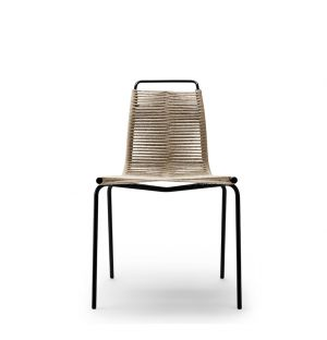 PK1 Dining Chair Black Frame