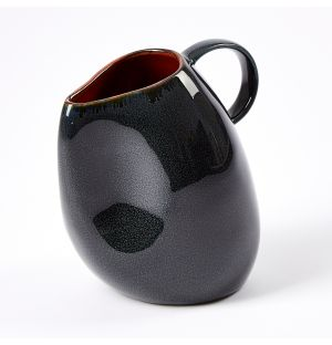 Ceramic Carafe Dark Blue Small