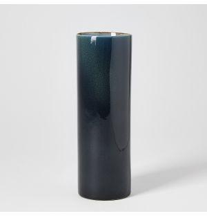 Tube Vase Dark Blue 7cm x 21cm