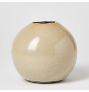Ball Vase Misty Grey Medium