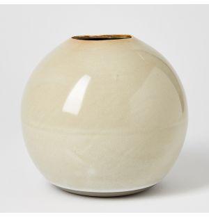 Ball Vase Misty Grey Large