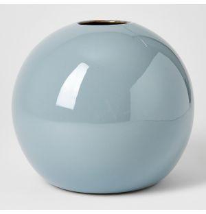 Ball Vase Smoky Blue Extra Large