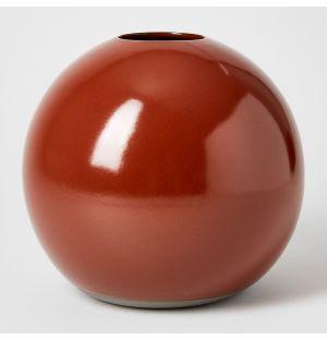 Ball Vase Rust Extra Large
